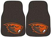 Fan Mats Oregon State Univ Carpet Car Mats (set)