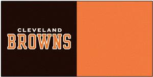 Fan Mats Cleveland Browns Team Carpet Tiles