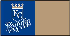 Fan Mats MLB Kansas City Royals Team Carpet Tiles