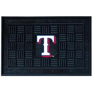 Fan Mats MLB Texas Rangers Medallion Door Mat