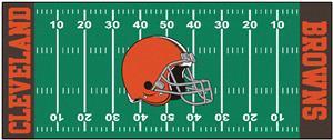 Fan Mat NFL Cleveland Browns Football Field Runner