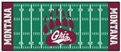 Fan Mats Univ of Montana Football Field Runner