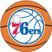 Fan Mats NBA Philadelphia 76ers Basketball Mat