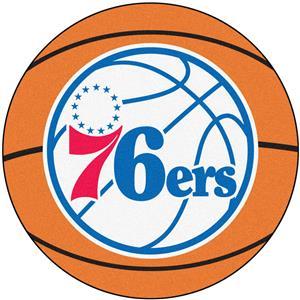 Fan Mats NBA Philadelphia 76ers Basketball Mat