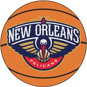 Fan Mats NBA New Orleans Pelicans Basketball Mat