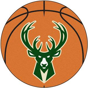 Fan Mats NBA Milwaukee Bucks Basketball Mat