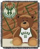 Northwest NBA Milwaukee Bucks Baby Jacquard Throw