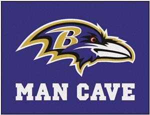 Fan Mats Baltimore Ravens Man Cave All-Star Mat