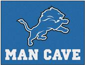 Fan Mats NFL Detroit Lions Man Cave All-Star Mat