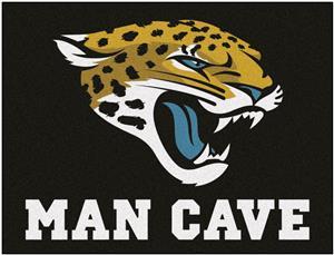 Fan Mats NFL Jaguars Man Cave All-Star Mat