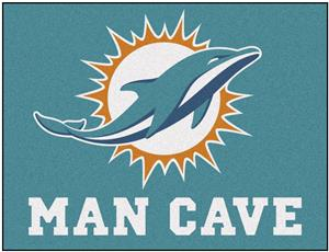 Fan Mats NFL Miami Dolphins Man Cave All-Star Mat