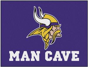Fan Mats NFL Vikings Man Cave All-Star Mat