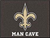 Fan Mats NFL New Orleans Man Cave All-Star Mat
