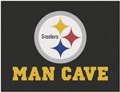 Fan Mats NFL Steelers Man Cave All-Star Mat