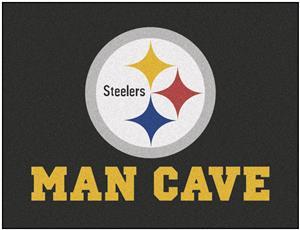 Fan Mats NFL Steelers Man Cave All-Star Mat