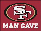 Fan Mats NFL San Francisco Man Cave All-Star Mat