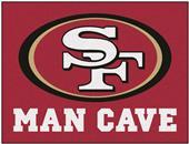 Fan Mats NFL San Francisco Man Cave All-Star Mat