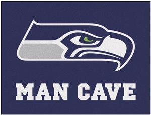 Fan Mats NFL Seattle Seahawk Man Cave All-Star Mat