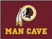 Fan Mats NFL Redskins Man Cave All-Star Mat
