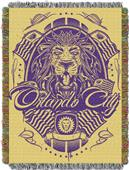 Northwest MLS Orlando City Handmade Tapestry Throw