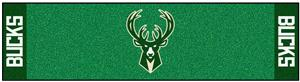 Fan Mats NBA Milwaukee Bucks Putting Green Mat