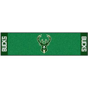Fan Mats NBA Milwaukee Bucks Putting Green Mat