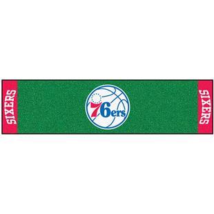 Fan Mats NBA Philadelphia 76ers Putting Green Mat