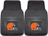 Fan Mats NFL Cleveland Browns Vinyl Car Mats (set)