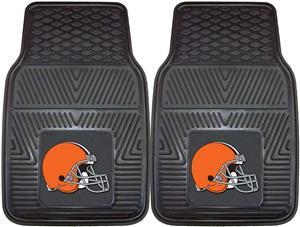 Fan Mats NFL Cleveland Browns Vinyl Car Mats (set)