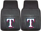 Fan Mats MLB Texas Rangers Vinyl Car Mats (set)