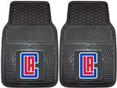 Fan Mats Los Angeles Clippers Vinyl Car Mats (set)