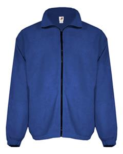 Badger Full Zip Polar Fleece Jackets