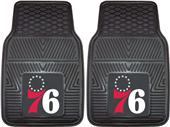 Fan Mats Philadelphia 76ers Vinyl Car Mats (set)