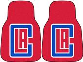 Fan Mats NBA LA Clippers Carpet Car Mats (set)
