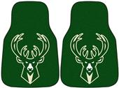 Fan Mats NBA Milwaukee Bucks Carpet Car Mats (set)