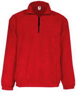 Badger Quarter Zip Polar Fleece Pullovers