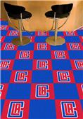 Fan Mats NBA LA Clippers Team Carpet Tiles