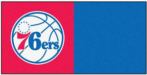 Fan Mats NBA Philadelphia 76ers Team Carpet Tiles