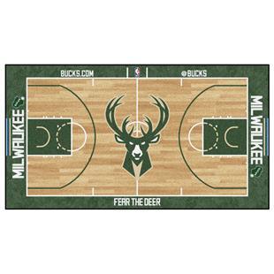 Fan Mats Milwaukee Bucks Large NBA Court Runners