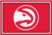 Fan Mats NBA Atlanta Hawks 5x8 Rug