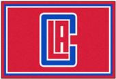 Fan Mats NBA Los Angeles Clippers 5x8 Rug