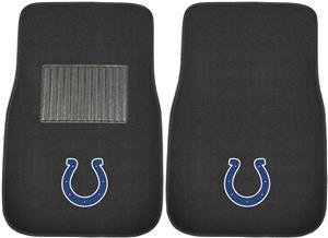 Fan Mats NFL Colts Embroidered Car Mats (set)