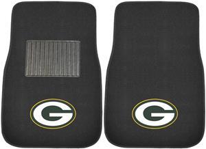 Fan Mats NFL Packers Embroidered Car Mats (set)