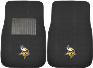 Fan Mats NFL Vikings Embroidered Car Mats (set)