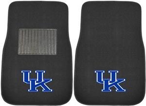 Fan Mats Univ Kentucky Embroidered Car Mats (set)