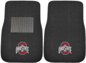 Fan Mats Ohio State Embroidered Car Mats (set)