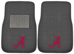 Fan Mats Univ Alabama Embroidered Car Mats (set)