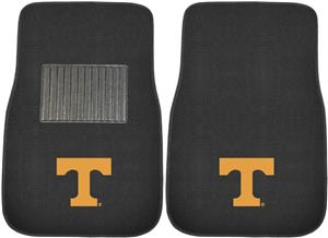Fan Mat Univ Tennessee Embroidered Car Mats (set)