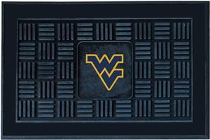 Fan Mat NCAA West Virginia Univ Medallion Door Mat