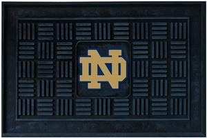 Fan Mats NCAA Notre Dame Medallion Door Mat